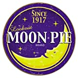 Moon Pie Round Logo Tin Sign , 12x12 by Poster Discount