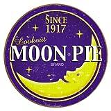 Moon Pie Round Logo Tin Sign , 12x12