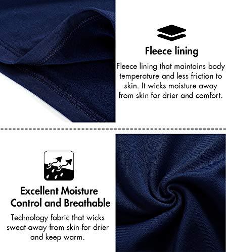 Lightweight Intimo Stress Al shirt Termico Invernali Tiene Navy T Lunghe Lapasa M11 Ti amp; Blu Set Maniche Pantaloni Uomo Senza Caldo TqYxnEz