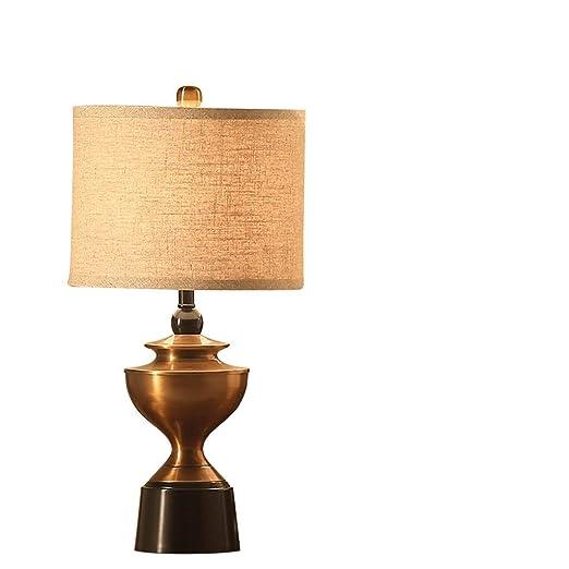 AAPDZ Lámpara de Mesa Dormitorio BedHead Estilo del Norte y ...