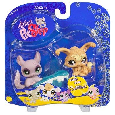 (Littlest Pet Shop Pet Pairs Chinchilla and Angora Bunny)
