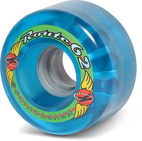 Sure-Grip Outdoor Kryptonics Wheels Route 62mm - Blue ()