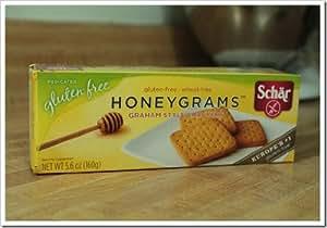 Schar Honeygrams Gluten Free -- 5.6 oz Each / Pack of 2