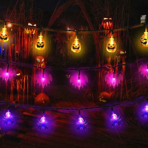 Large Outdoor Halloween Decorations - MAOYUE Halloween Lights Outdoor Halloween String