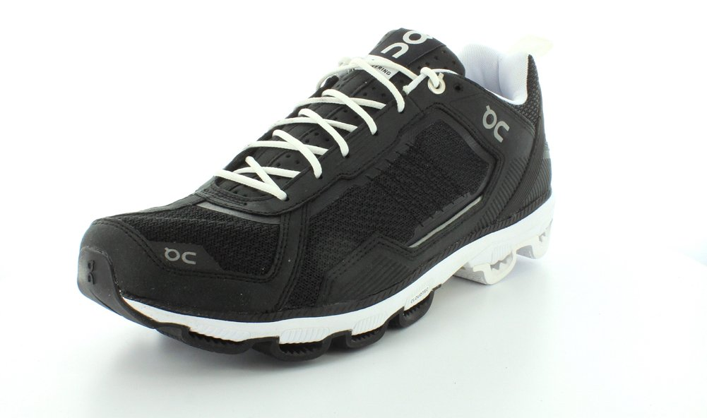 ON Women's Cloudrunner Sneaker B00QLE4DG6 9 D(M) US|Black/White