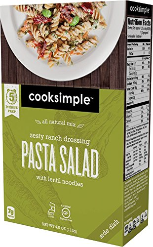 cooksimple-all-natural-mix-zesty-ranch-dressing-pasta-salad-4-pack