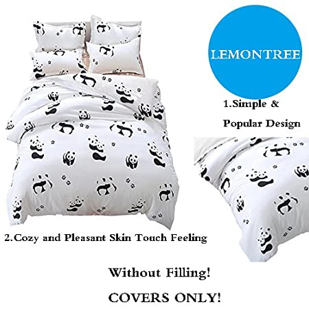 LemonTree 3Pcs Girls Luxurious/&Extremely Durable Premium Bedding Collection Blue wave Small mermaid pattern Full//Queen, # 01 1 Duvet Cover+2 Pillowcases