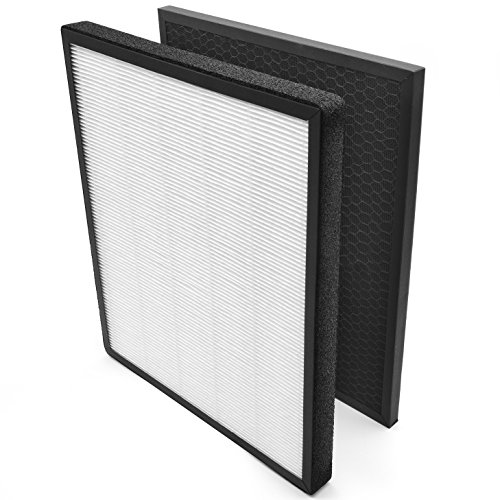 Filter Replacement Hepa Air Cleaner (LEVOIT Air Purifier LV-PUR131 Replacement Filter, True HEPA & Activated Carbon Filters Set, LV-PUR131-RF)