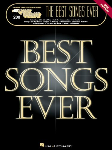 The Best Songs Ever Songbook: E-Z Play Today Volume 200 (Today Ez Play)