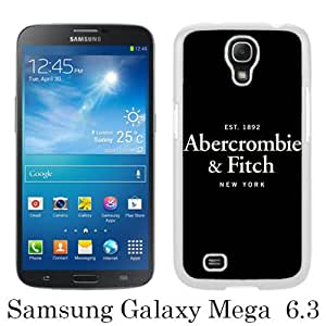 New Fashionable And Durable Designed Case For Samsung Galaxy Mega 6.3 I9205 With Abercrombie and Fitch 14 White Phone Case