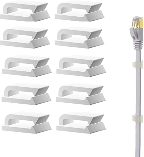 Ethernet Cable Clips Adhesive 3m Wire Clips Holder Self Adhesive Wire Clips