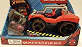 Marvel Spiderman Quadricycle R/C with Stunt Ramp!