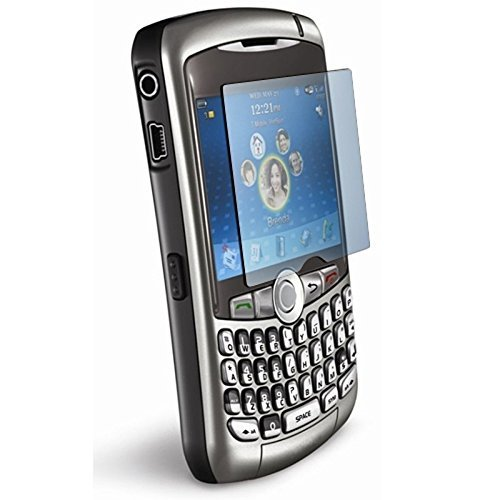 BlackBerry Curve 8300/8310/8320/8330/8350 Clear LCD Screen Protector -
