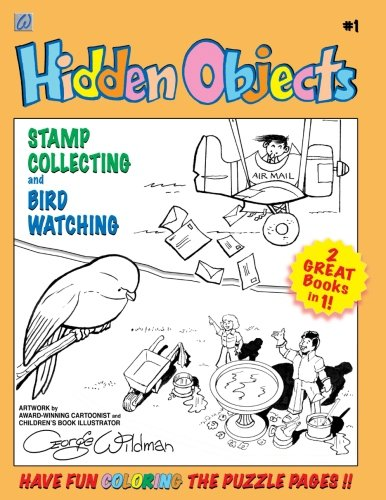 Read Online Hidden Objects #1: Stamp Collecting and Birdwatching (Volume 1) ebook