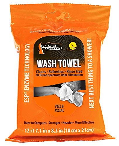 - Dead Down Wind Windcamp Wash Towels, Orange
