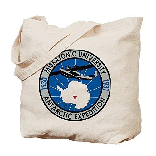 CafePress–Miskatonic Antartico Expedition–�?Naturale Borsa di tela, panno borsa per la spesa