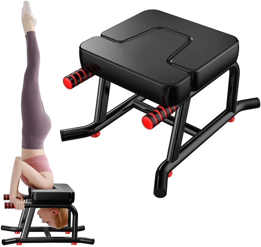 St/ützt Das Gewicht Ihrer Schultern Und Erleichtert Das Stehen Auf Dem Kopf intensely pegtopone Yoga-Bank Kopfstandhocker Yoga Kopfstand Hocker Yoga-Fitness-Bank Hilft Aufrecht Zu Stehen