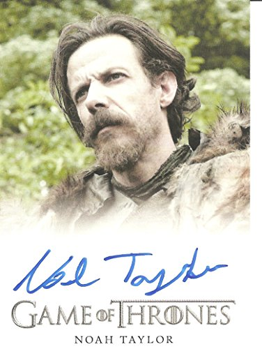- Game of Thrones Season 4 Noah Taylor as Locke Autographed Trading Card