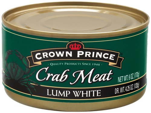 - Crown Prince Lump White Crab Meat, 6-Ounce Cans (Pack of 12)