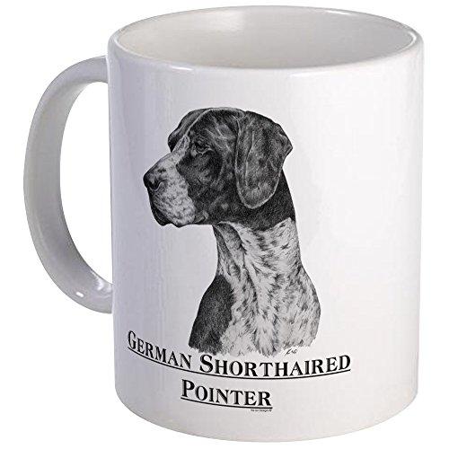 CafePress German Shorthair Pointer Dog Breed Mug Unique Coffee Mug, Coffee Cup