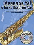 Aprende Ya a Tocar Saxofon Alto, Groppa, 0825628814