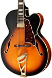 D'Angelico EXL102 Hollow-Body Electric Guitar, Vintage Sunburst