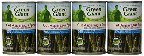 Cut Asparagus (Green Giant Cut Asparagus Spears, Low Salt, 14.5-Ounce Cans (Pack of)