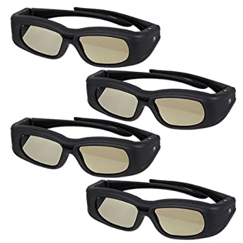 4X 3D gafas para proyectores EPSON EH-TW6000 EH-TW6500 EH-TW8000 ...