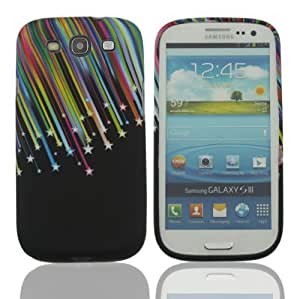 SUPWISER-93HUA02New Flower TPU Rubber Skin Case Compatible with Samsung Galaxy S3-Pattern 11