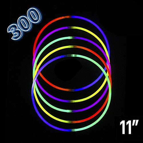 Glow Stick | Glow in The Dark | Light Stick Bulk Party Supplies Favors Necklaces Bracelets Glowstick Neon Toys for Kids 11