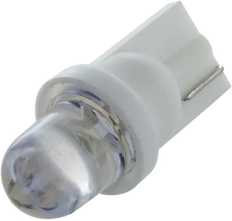 REFURBISHHOUSE 10x W5W Ampoule veilleuse LED 158 168 194 T10 2825 Blanc Xenon Plafonnier Effet