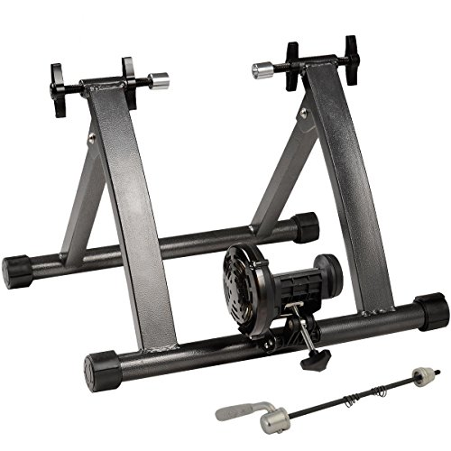 Goplus Bike Trainer Magnet Steel Indoor Bicycle Exercise Stand by Goplus