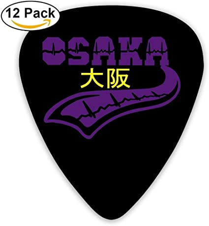 Celluloid Guitar Picks Electric Guitar Plectrums,Print Osaka Heart ...