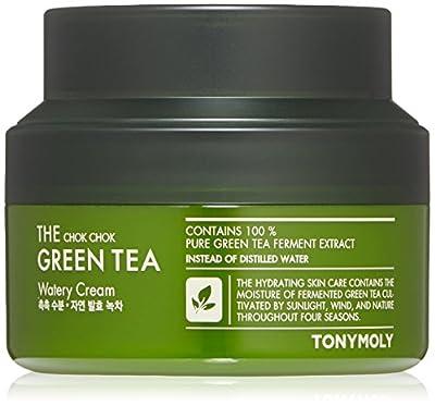 TONYMOLY The Chok Chok Green Tea Watery Cream, 2 fl.oz.