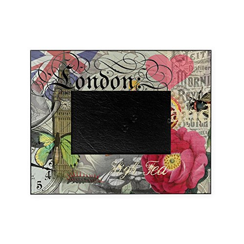 CafePress - London England Vintage Travel Collage Picture Fram - Decorative 8x10 Picture - Frames Vintage London