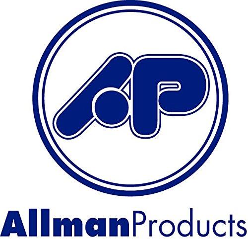 Allman Cervical Pillow Cover - White