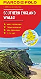 img - for Southern England Wales Marco Polo Map (Marco Polo Maps) book / textbook / text book