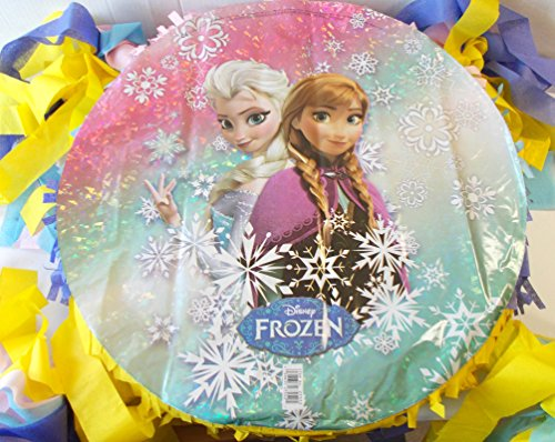 BdayParties Frozen Elsa Anna 15'' New Custom Birthday Party Pinata by Bday Parties