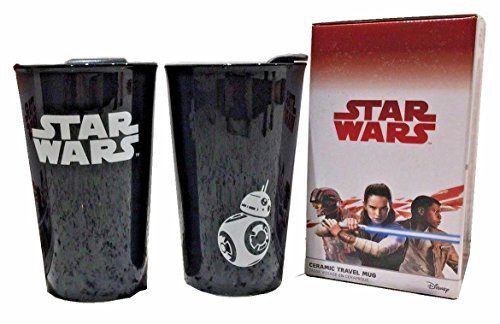 Star Wars Episode VIII Last Jedi Ceramic 12 oz. Travel Mug - BB-8