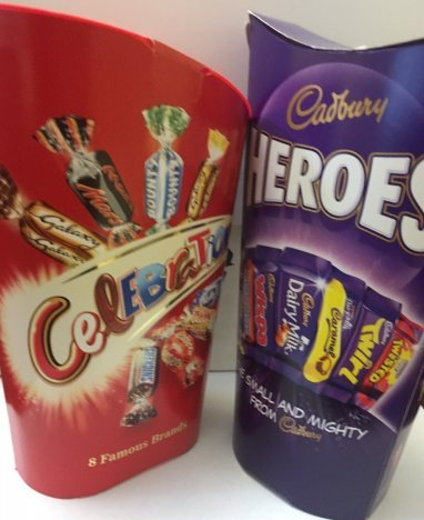 Chocolates Celebration (Cadbury Heroes & Celebration Chocolate)