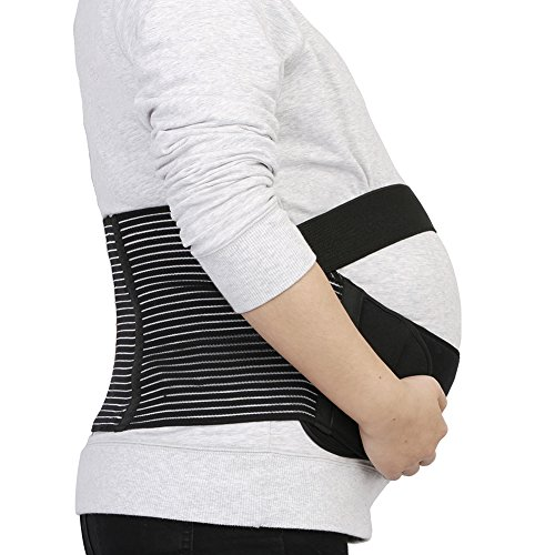 Maternity Support Belt - IntiPal Pregnancy Belts - Waist Back Abdomen Belly...