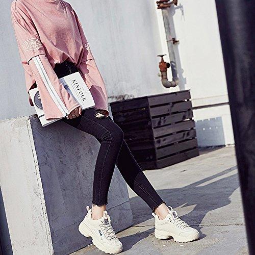 xiaolin Zapatillas Ultra Fire Sneakers Korean Version Zapatillas Casual Para Estudiante Zapatos Pequeños Para Correr Blanco