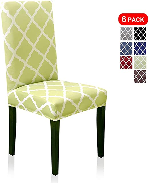 Stretchable Seat Covers Cover Protector Dining Chair Replacement Set Of 2 Snow