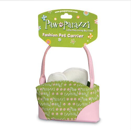 Pawparazzi Fashion Pet Carrier Purse - Green (Pawparazzi Purse)