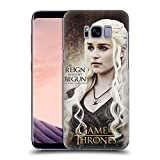 Official HBO Game Of Thrones Daenerys Targaryen Character Quotes Hard Back Case for Samsung Galaxy S8+ / S8 Plus