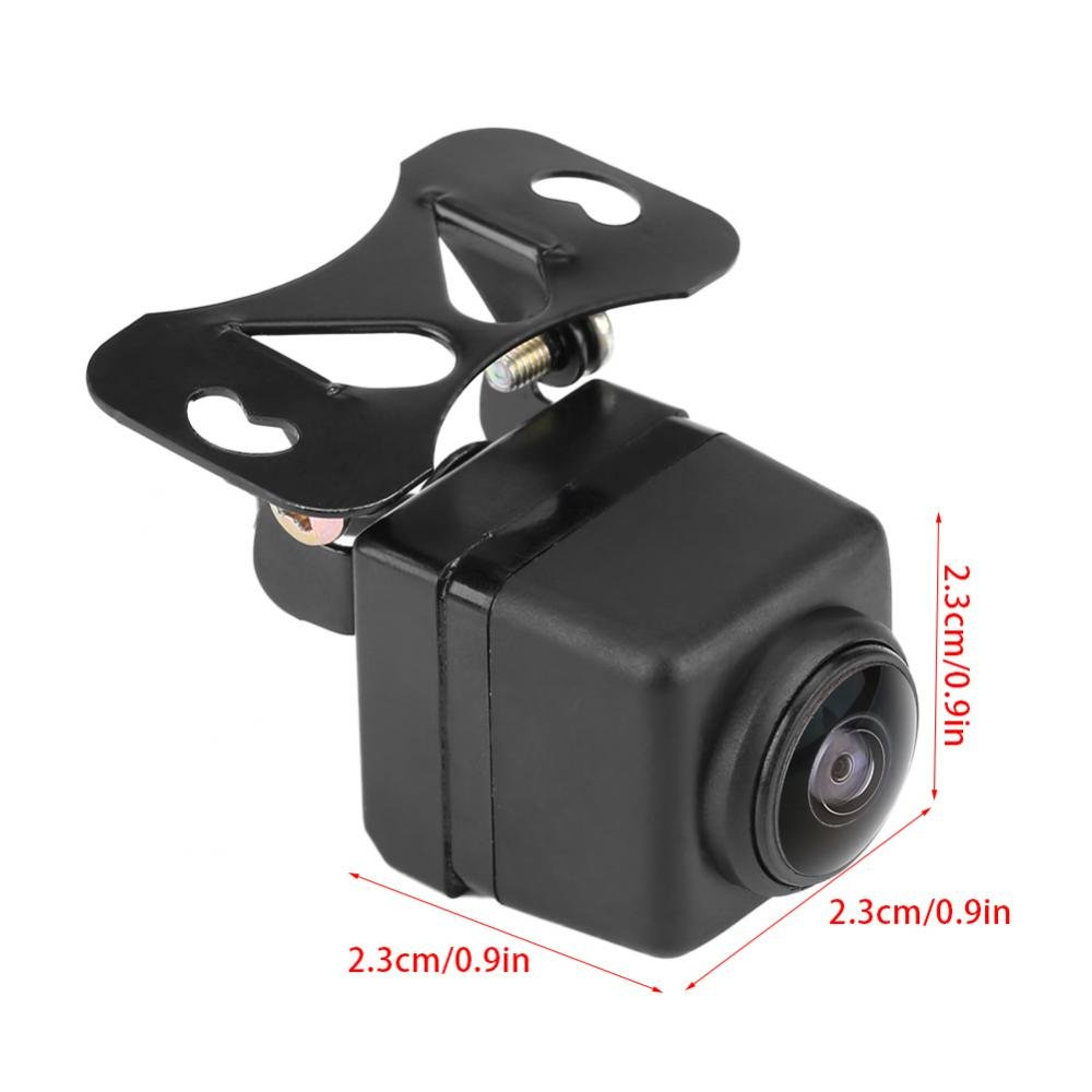 Backup Camera Night Vision Dashboard Camera Driving Dash Recorder HD180 Degree Wide Angle Lens Fisheye Lens Night Vision Car Camera Front View Wide Angle Camera