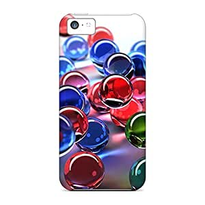 Lmf DIY phone caseiphone 5c Case, Premium Protective Case With Awesome Look - Colored BallsLmf DIY phone case