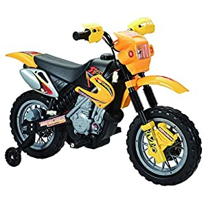 Happy-RiderFun-Wheels-6-volt-Battery-Operated-Ride-On-Dirt-Bike-YellowDiscontinued-by-manufacturer
