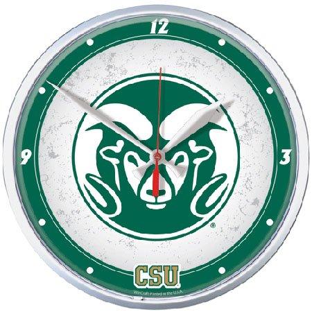 NCAA Colorado State Round Wall Clock, 12.75