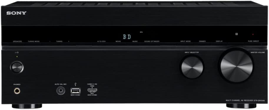 Sony STR-DN1040 7.2-Channel Network A/V Receiver (Built-in Wi-fi & Bluetooth)